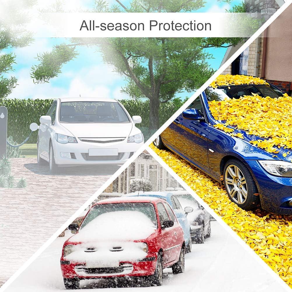 Frostschutz Sonnenschutz reflektiert Sonneneinstrahlung und sch/ützt effektiv vor Frost und Schnee XL SEG Direct Universal Windschutzscheibenabdeckung f/ür alle Pkw und Jahreszeiten geeignet
