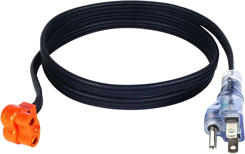 Amazon.com: Zerostart 3600116 Lit Plug Cordset for Engine Block Heaters,  5-Feet | 120 Volts: Automotive