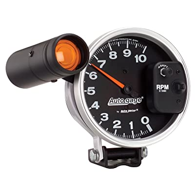 AUTO METER 233904 Autogage Monster Shift-Lite Tachometer: Automotive
