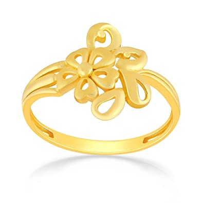 Buy Malabar Gold & Diamonds 22KT Yellow Gold Ring for Women line