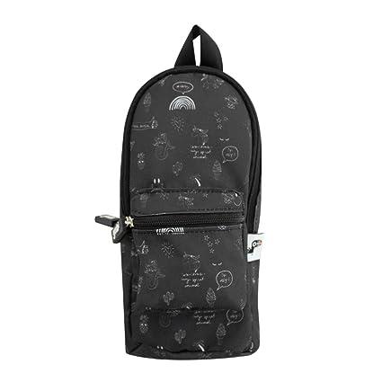 Amazoncom Yoobi Black Backpack Pencil Case Office Products