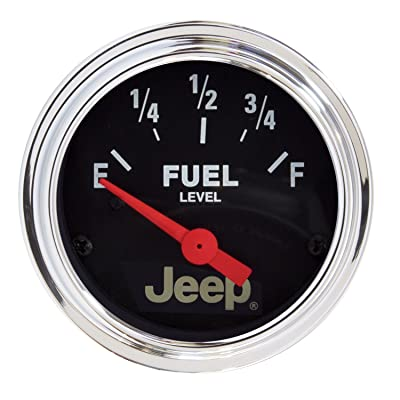 Auto Meter 880428 Jeep Electric Fuel Level Gauge: Automotive