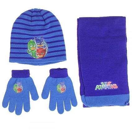 guanti Pj Masks 3 pz cappello sciarpa