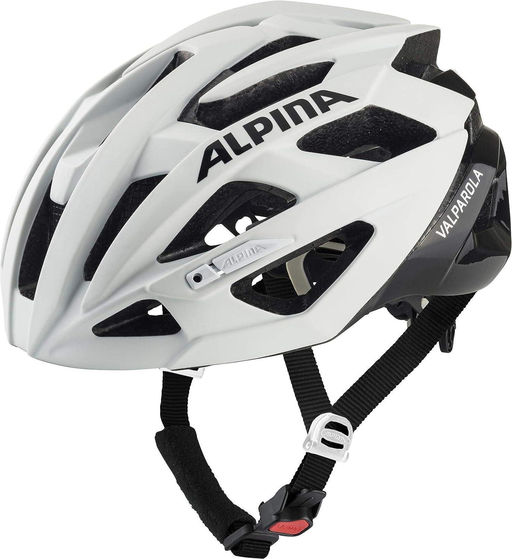 Casco de Bicicleta Blanco//Negro 2019 ALPINA Valparola