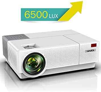 Proyector, YABER 6500 Lúmenes Proyector Full HD 1920x1080P Nativo ...
