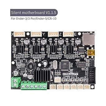 Upgrade Motherboard Silent Mainboard for Ender-3//Ender-3Pro// Ender-5 3D Printer