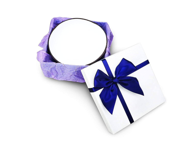 WHITE Natural Coconut Bowl Shell Housewarming New Home Decorative Gift Handmade Kitchen Home /& Luxury Gift Box