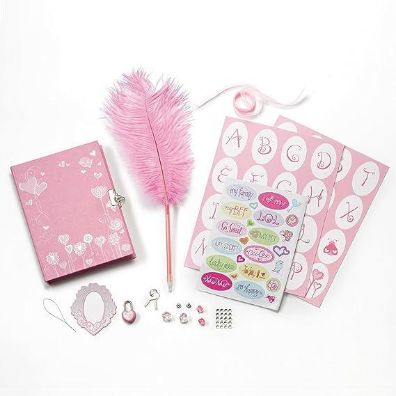 Amazon.com: Creativity for Kids – Mi Diary – Diario con ...