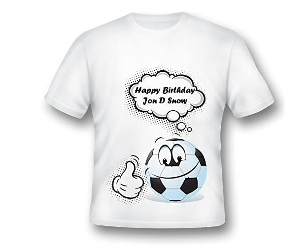 1c2079d6599 Amazon.com: Personalized Soccer Shirt, Birthday Soccer shirt, boys Soccer  shirt, Soccer T-shirt, Soccer Birthday: Handmade