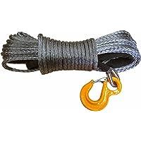 Raw Machine rrsr1230de BK Rope plástico Cuerda cabrestante