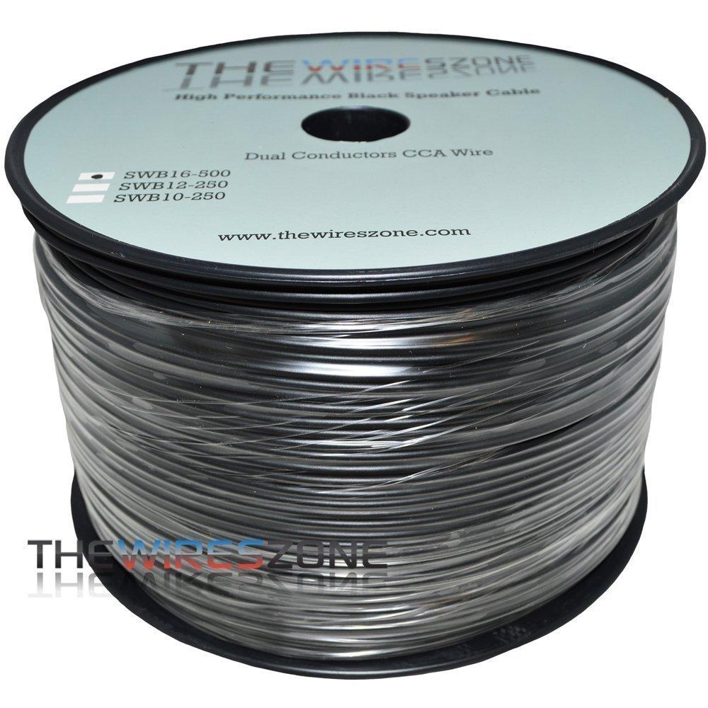 Amazon.com: The Wires Zone SWB16-500 True 16 Gauge 500\' PVC Super ...
