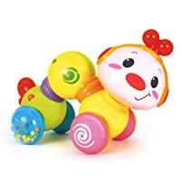 Happy Wiggle Worm – Fun Baby Crawling Toys Activity, Plays Music, Flashes Lights...