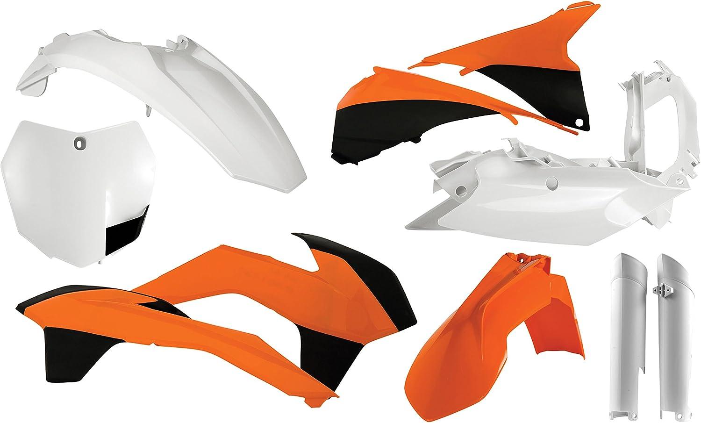 Acerbis Plastic Kit Orange 2041030206 Color KTM Orange