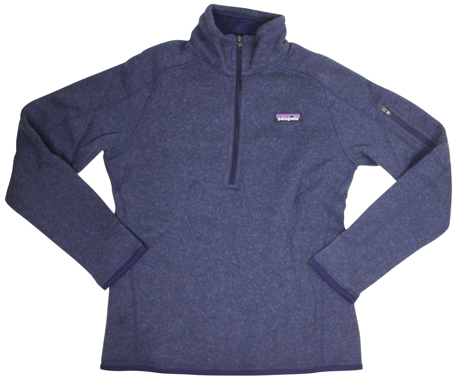 Patagonia Womens Better Sweater 1/4 Zip, Classic Navy, XXS