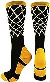 MadSportsStuff Basketball Net Athletic Crew Socks
