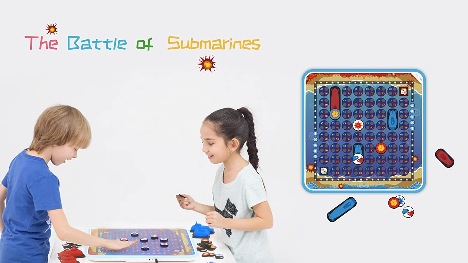 Beyond Screen Beyond Tablet The Battle of Submarines Game