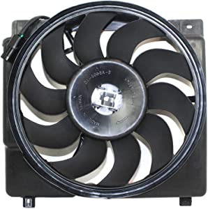 Radiator Fan Assembly for CHEROKEE 95-96 6Cyl-Inline Eng.