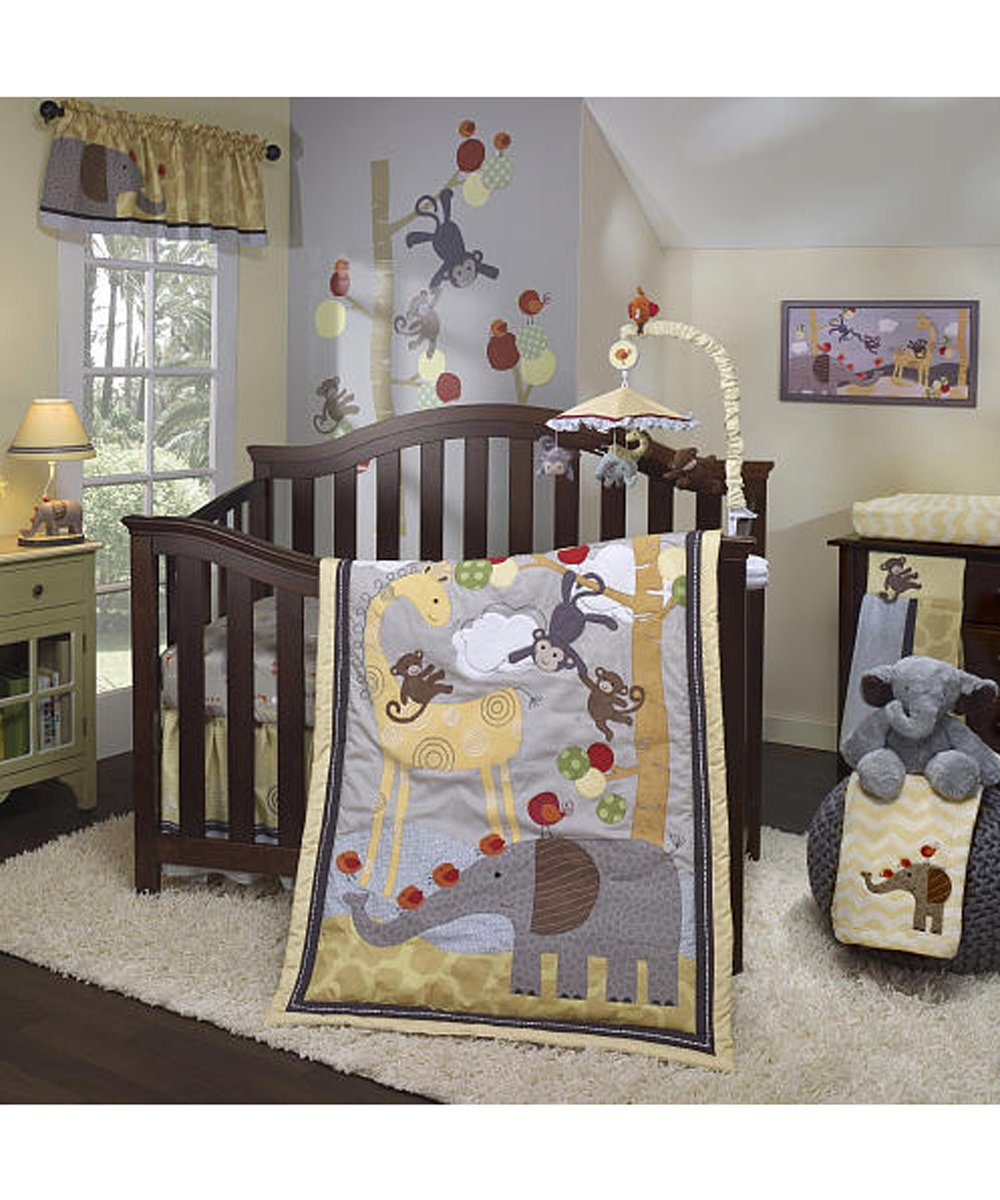 amazoncom lambs u0026 ivy crib bedding set 6 piece by baby nursery window treatments baby