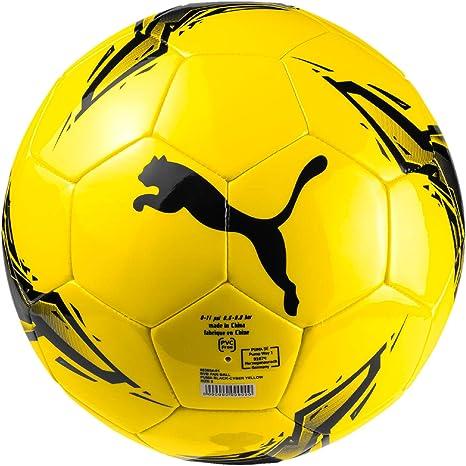 Puma BVB Fan Ball Balón de Fútbol, Hombre, Black/Cyber Yellow, 5 ...