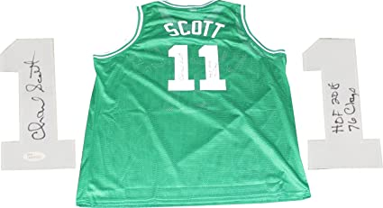 2a7073504 Charlie Scott HOF 2018   76 Champs Autographed Boston Celtics Jersey ...