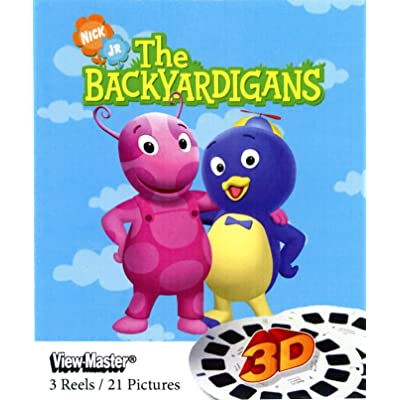 Backyardigans - ViewMaster 3 Reel Set: Toys & Games