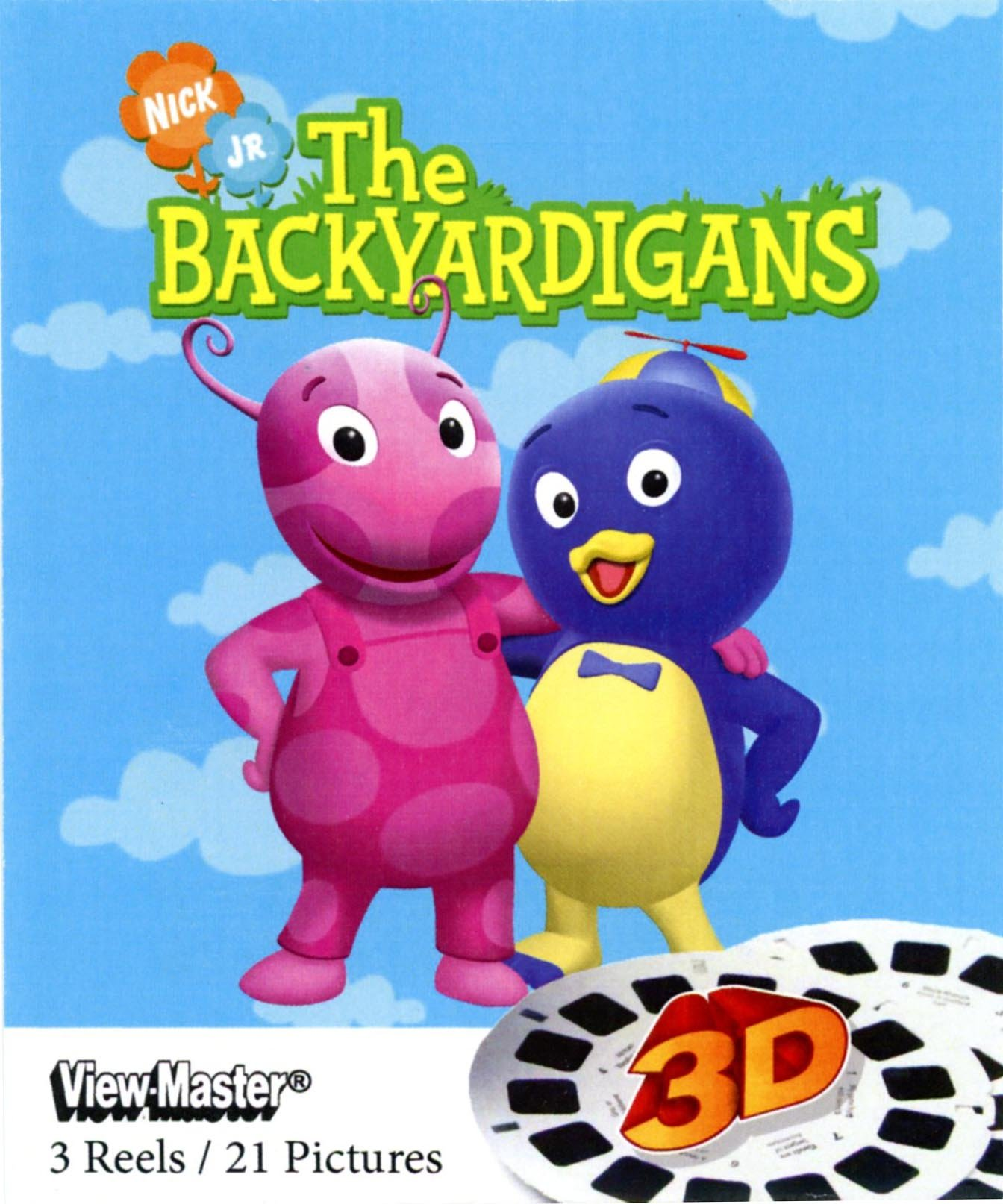 Backyardigans - ViewMaster 3 Reel Set by View Master (Image #1)