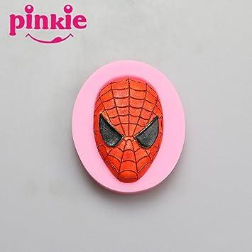 Pinkie – Spider-Man Fondant molde de silicona moldes Chocolate arcilla resina molde Sugarcraft Decoración