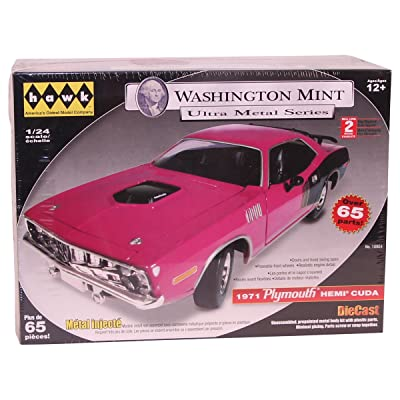 Hawk Washington Mint Ultra Metal Series 1971 Plymoth Hemi Cuda Purple: Toys & Games
