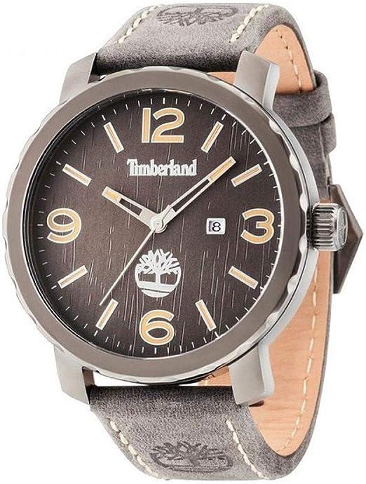 Servicio Confusión ladrón  Timberland Pinkerton Watch TBL.14399XSU-13 - Leather Gents Quartz Analogue:  Amazon.co.uk: Watches