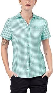 Jack Wolfskin Damen Kepler Shirt Women Schnelltrocknend Leicht Alltag Reise Bluse