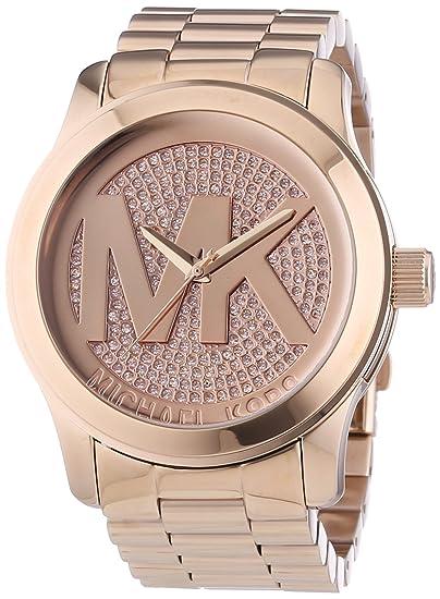 Michael Kors MK5661 - Reloj de pulsera mujer, acero inoxidable: Amazon.es: Relojes
