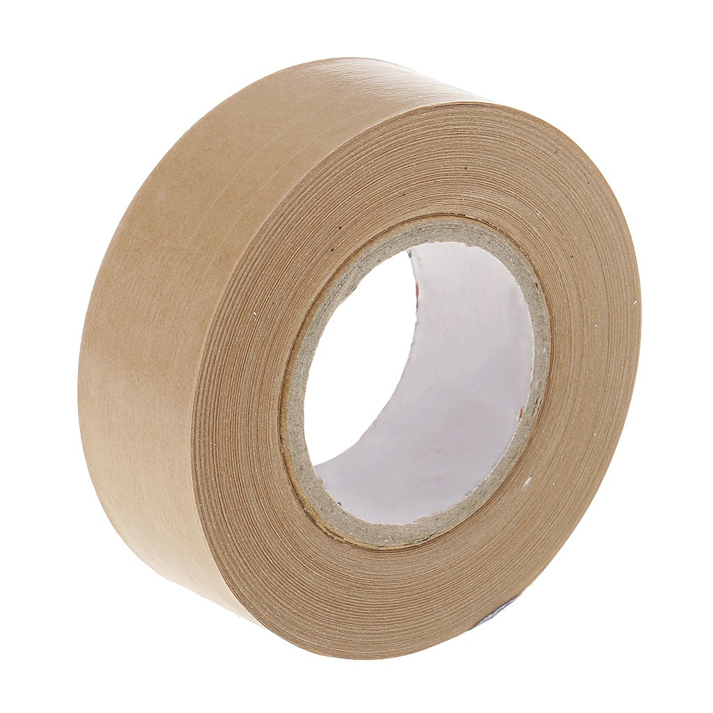 MagiDeal 30 Meters Long Kraft Paper Tape Sealing Picture Frames Water Activated non-brand