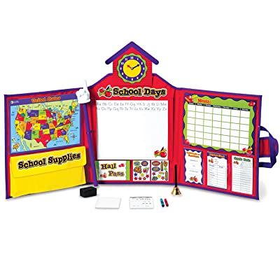 Learning Resources Pretend & Play School Set, 149 Pieces, Ages 3+ [Standard Packaging]: Toys & Games