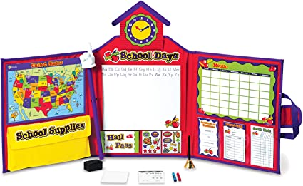 Toy Boys Girls Kids Learn Fun Learning Resources Pretend Play School Set Ages 3