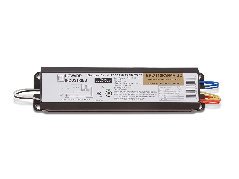 Howard Beleuchtung EP2/110rs/MV/SC 2 Lampe f96t12ho Elektronisches ...
