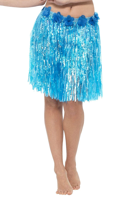 Smiffys - Falda de hawaiana para mujer (azul): Amazon.es ...