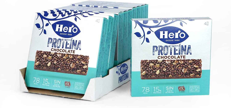 Hero Proteína - Barritas de Cereales y Chocolate con Leche ...
