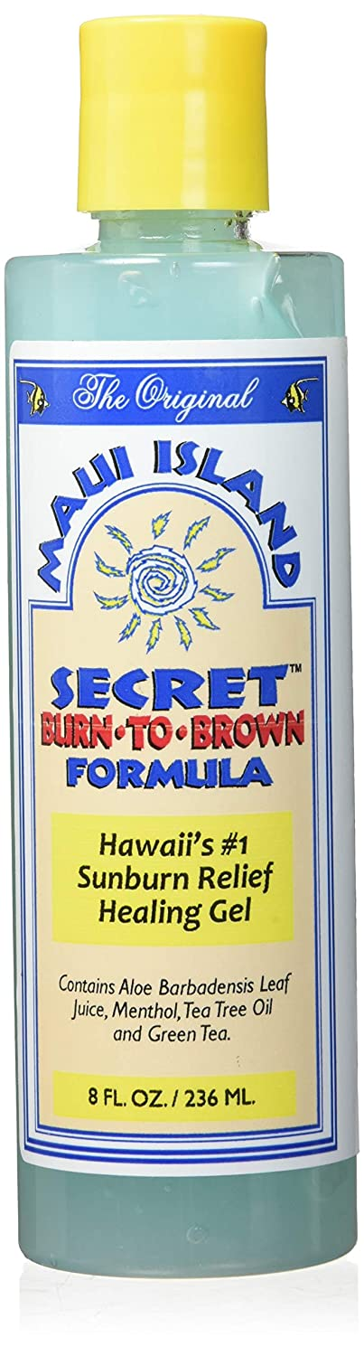by Maui Island Secret Maui Island Secret Burn-To-Brown Formula, Sunburn Relief Healing Gel 8 Oz. by Maui Island Secret B003YQ1UGA