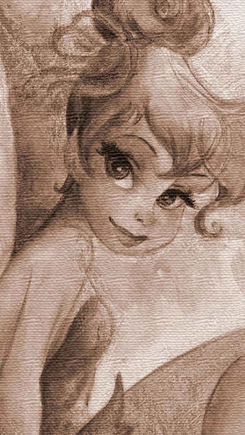 ディズニー ティンカーベル  XFVGA(480×854)壁紙画像