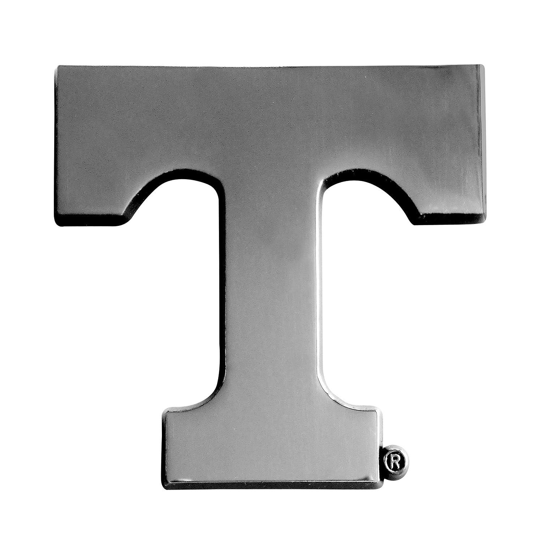 FANMATS NCAA University of Tennessee Volunteers Chrome Team Emblem