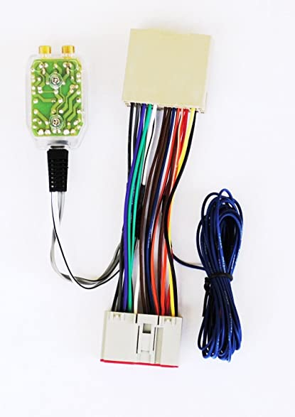 71Fp8fw2FUL._SY587_ amazon com radio add a amp amplifier sub interface wire harness how to add wires to a wiring harness at gsmx.co