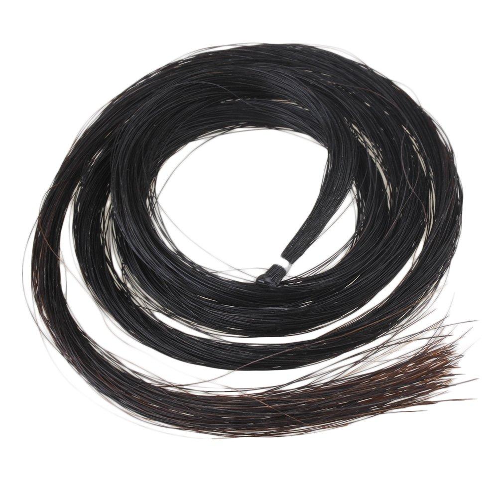 BQLZR Noir 1HANKS professionnel Violon en cheveux de Mongolie N01732