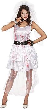 Disfraz novia zombie mujer Halloween: Amazon.es: Juguetes y juegos