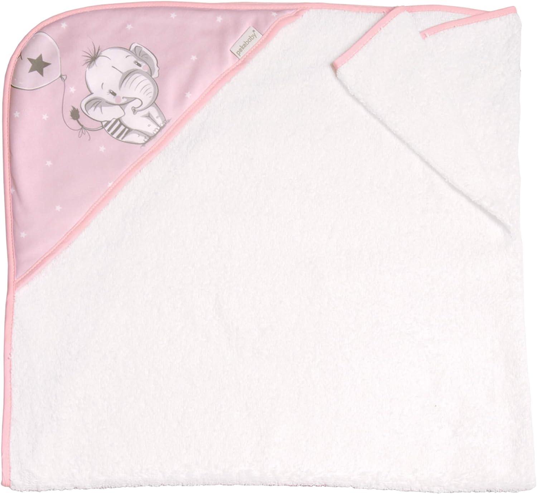 100 x 100 cm ELEFANTINO AZUL Capa de ba/ño para bebe