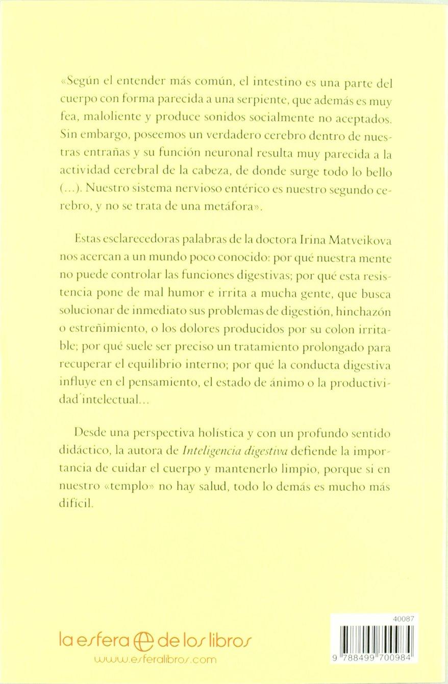 Inteligencia digestiva : una visión holística de tu segundo cerebro  Psicología y salud: Amazon.de: Irina Matveikova: Fremdsprachige Bücher