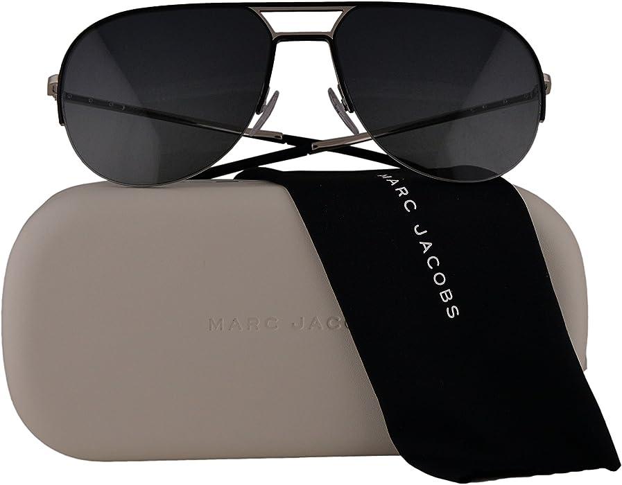 7d015eec42 Marc Jacobs MJ624 S Sunglasses Silver Black w Grey Gradient Lens 58mm L2EHD  MJ624S