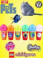 The Secret Life of Pets Surprise Toy Balloon Cups | Blind Bags Shopkins Fashems