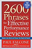 2600 Phrases for Effective Performance Reviews: Ready-to-Use Words and Phrases That Really Get Results (UK Professional Business Management / Business)