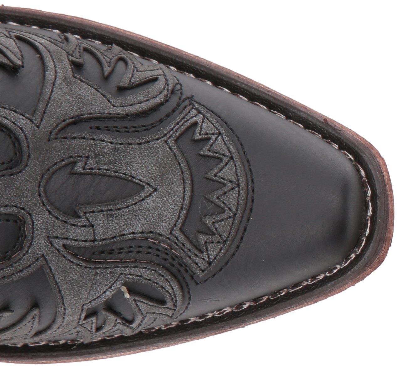 Roper Women's Amelia Western Boot B074D3RJ1F 5.5 B(M) US Black