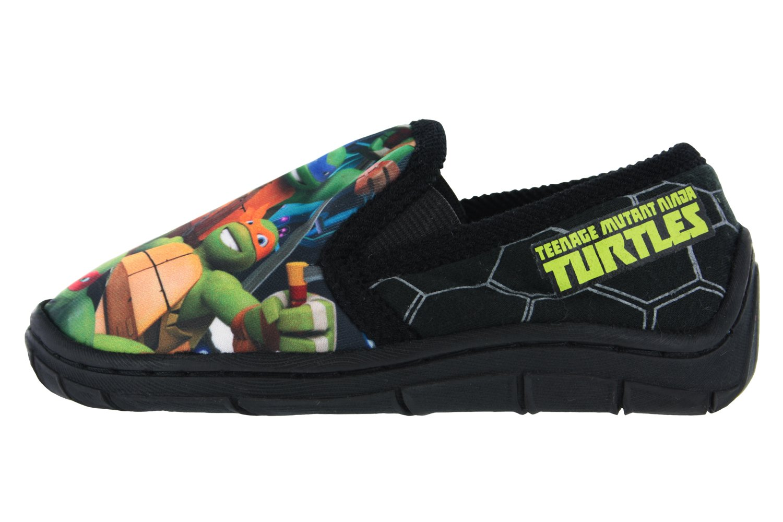 Boys - TMNT Teenage Mutant Ninja Turtles Slippers Novelty 177